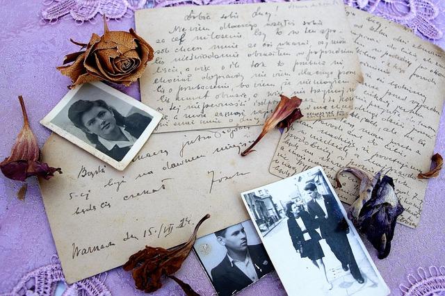 starý dopis