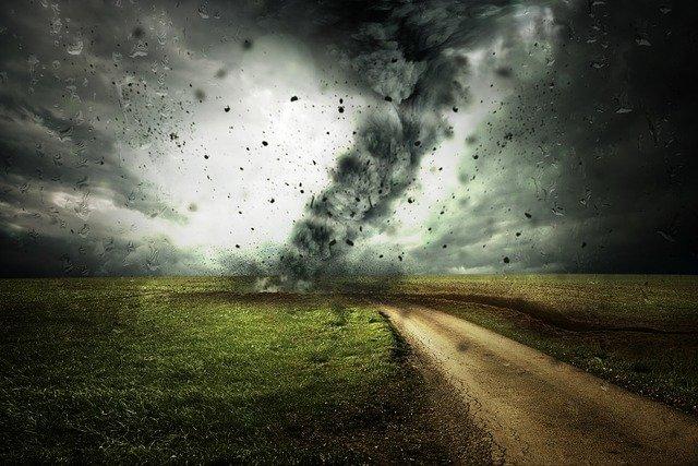 bouřka