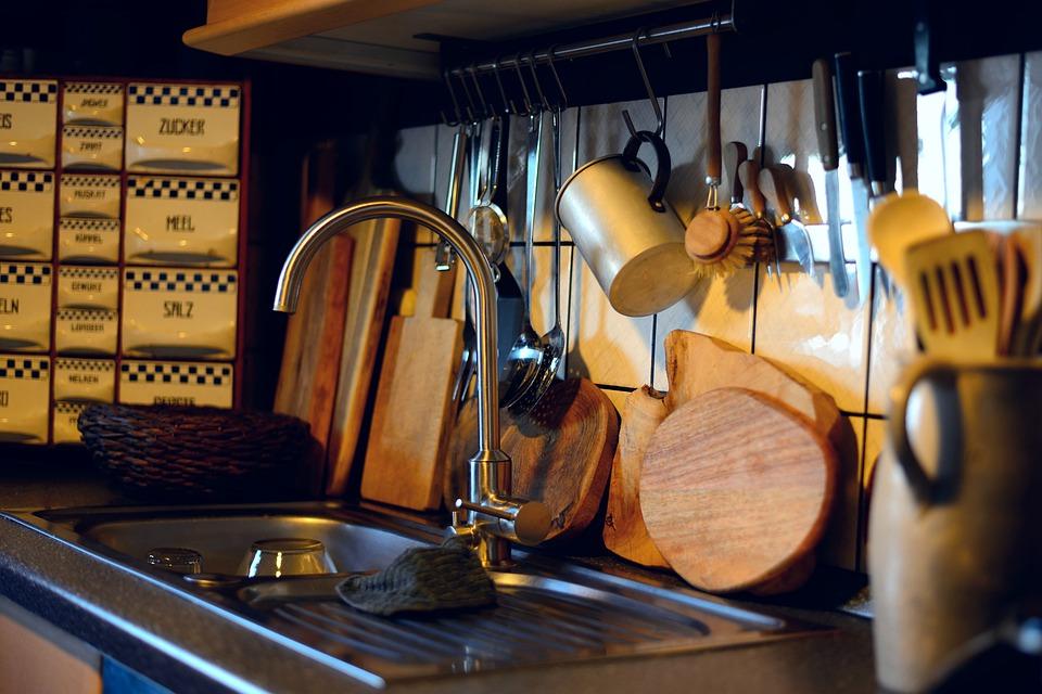 kuchynňa, kuchynský drez
